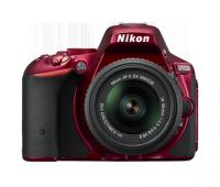 D5500 (Red-With AF-S 18-55mm VRII Kit Lens)