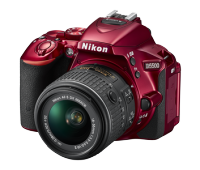 D5500 (Red with AF-S 18-140mm VR Kit Lens)
