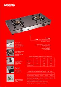 Vetra SS & MS Two Burner