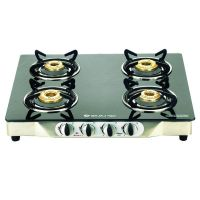 CGX 4 Bajaj Majesty Glass Top 4 Burner SS