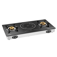 2 Burner Cooktop with Induction Cooktop – Hybrid