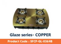 Copper Four Burner