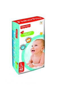 Fisher Price Happy Baby Diapers Large