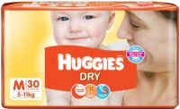 Dry Diapers Medium Size