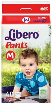 Libero Medium Size Diaper Pants
