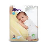 Libero Open New Born Size Diapers