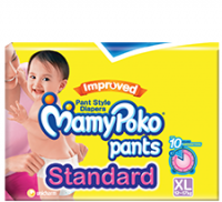 Mamy Poko Pants Standard Pant Style Extra Large Diapers