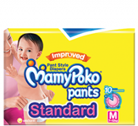 Mamy Poko Pants Standard Pant Style Medium Diapers