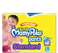 Mamy Poko Pants Standard Pant Style  Large Diapers