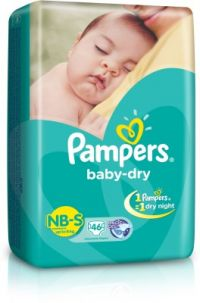 Baby Dry Diapers Small Size