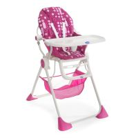 Chicco Pocket Lunch High Chair - Miss Pink