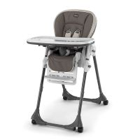 Polly Highchair-Latte