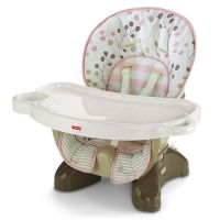 SpaceSaver High Chair-Berry