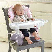 SpaceSaver High Chair - Pink
