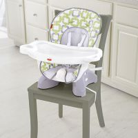 SpaceSaver High Chair - Green Blue