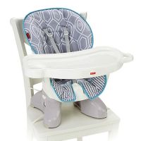 SpaceSaver High Chair - Grey