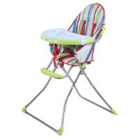 Luvlap Baby High Chair 8113 (Sunshine) -Green