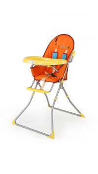 Luvlap Baby High Chair 8113 (Sunshine) -Yellow