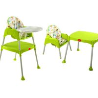 3 In 1 Baby high chair (Green)