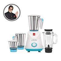 Grind N Mix Elite, 500 W Mixer Grinder (3 Jars) Blue