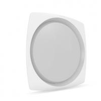 Flat 8Q White