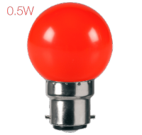 Lumeno LED 0.5 Watt Ball - Red