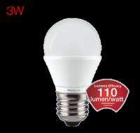 LED Lumeno 3 Watt B22 Cool Day Light Candle Lamp