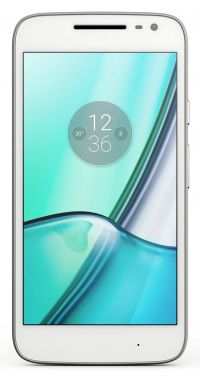 Moto G Play, 4th Gen (White)
