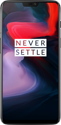 OnePlus 6 (Mirror Black, 64GB)