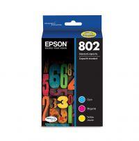 T802 Color C/M/Y 3-Pack