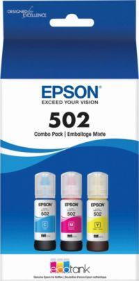 EcoTank 502 (C/M/Y 3 Pack)