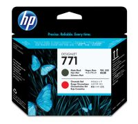 HP 771 Matte Black-Chromatic Red Designjet Printhead