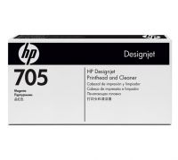 HP 705 Magenta Printhead and Printhead Cleaner