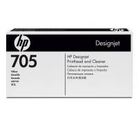 HP 705 Yellow Printhead and Printhead Cleaner