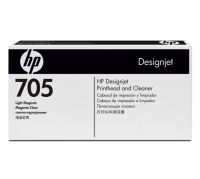 HP 705 Light Magenta Printhead and Printhead Cleaner