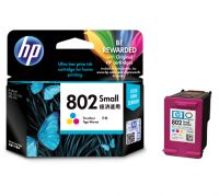 HP 802 Tri-color Ink Cartridge