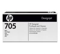 HP 705 Black Printhead and Printhead Cleaner