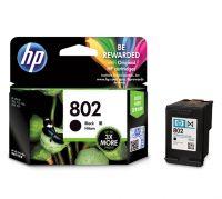 HP 802 Black Ink Cartridge (Large)