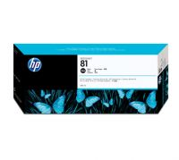HP 81 680-ml Black Dye Ink Cartridge