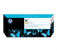 HP 81 680-ml Yellow Dye Ink Cartridge