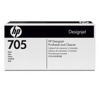 HP 705 Cyan Printhead and Printhead Cleaner
