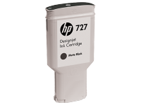 HP 727 300-ml Matte Black Designjet Ink Cartridge