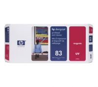 HP 83 Magenta UV Printhead and Printhead Cleaner