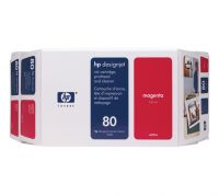 HP 80 Value Pack 350-ml Magenta Ink Cartridge and Printhead