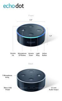 Echo Dot - 2nd Gen (Black)
