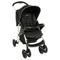 Mirage Plus Stroller, Black ZigZag