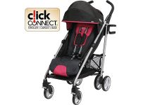 Breaze Click Connect Stroller - Azalea