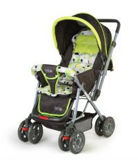 Luvlap Sunshine Baby Stroller 1003 Light Green