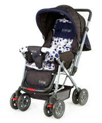 Luvlap Sunshine Baby Stroller 1003 Navy Blue
