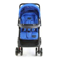Sports Baby Stroller T281 - Navy Blue/Black